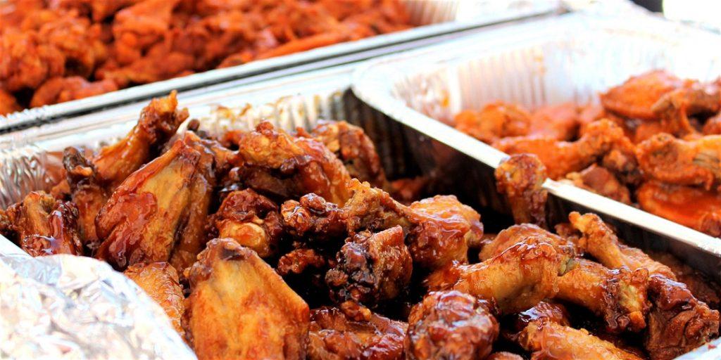 chicken wings - Maryland chicken wing festival